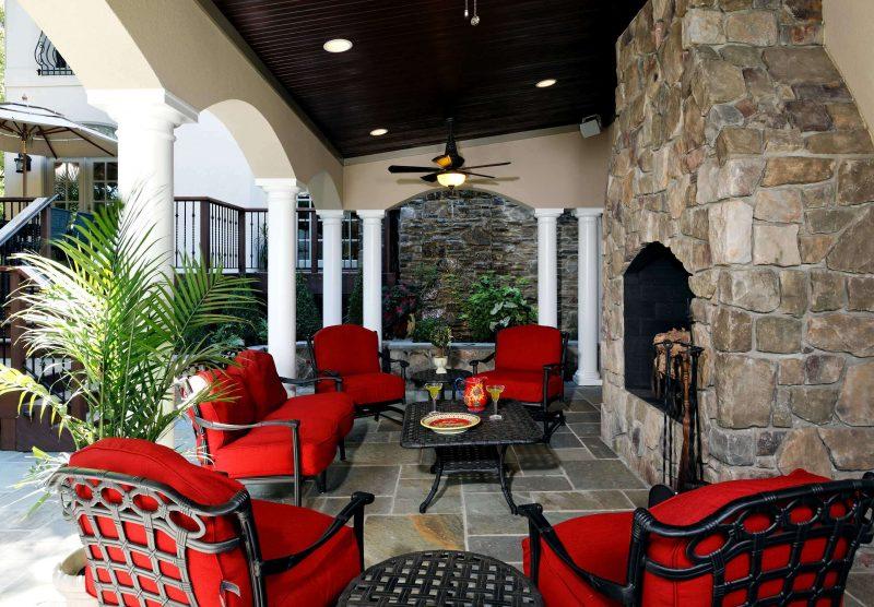Design Gartenmöbel können auch farbig sein