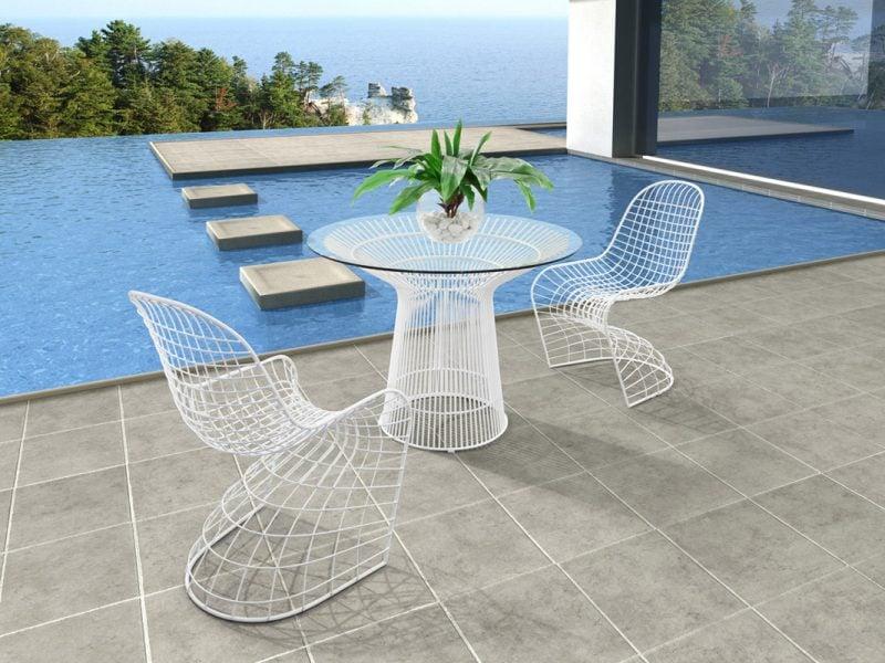Design Gartenmöbel Minimalismus