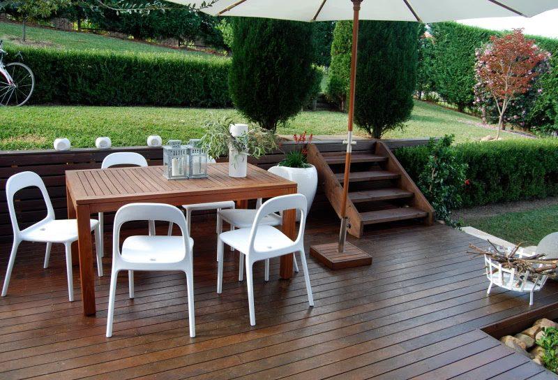 Design Gartenmöbel : Kombinieren Sie die Materialie