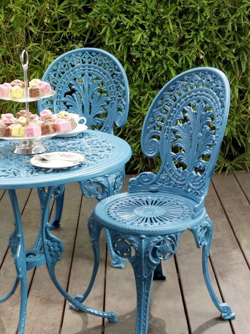 Design Gartenmöbel aus Metall mit einzigartigen Formen