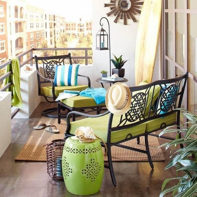 Bringen Sie Farbe mit Design Gartenmöbel