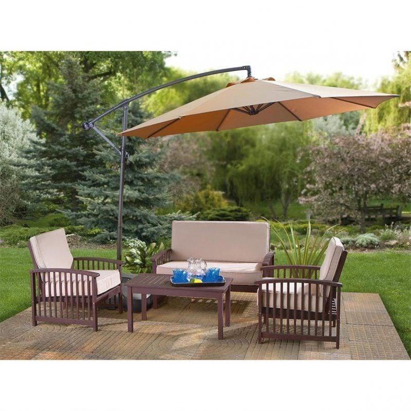 Design Gartenmöbel: Die Rolle von Sonnenschirm