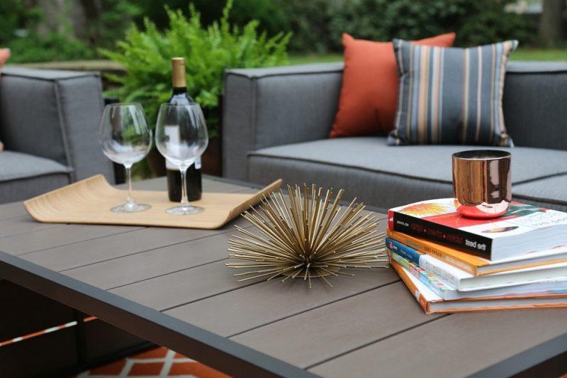 Modern Design Gartenmöbel für den Balkon