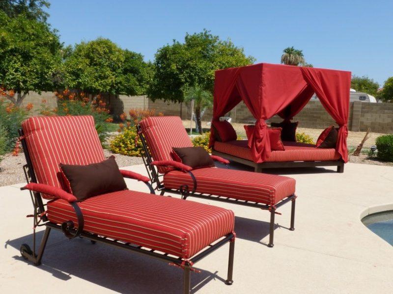 Design Gartenmöbel: Sonnenliege