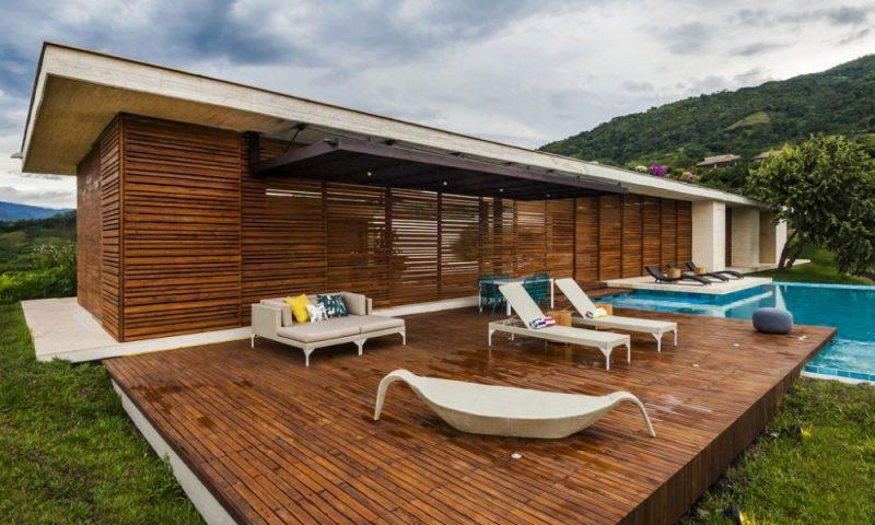 Design Gartenmöbel modern Sonnenliege