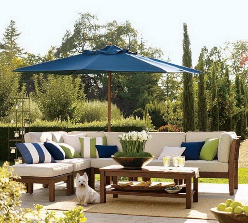 Design Gartenmöbel für großen Garten