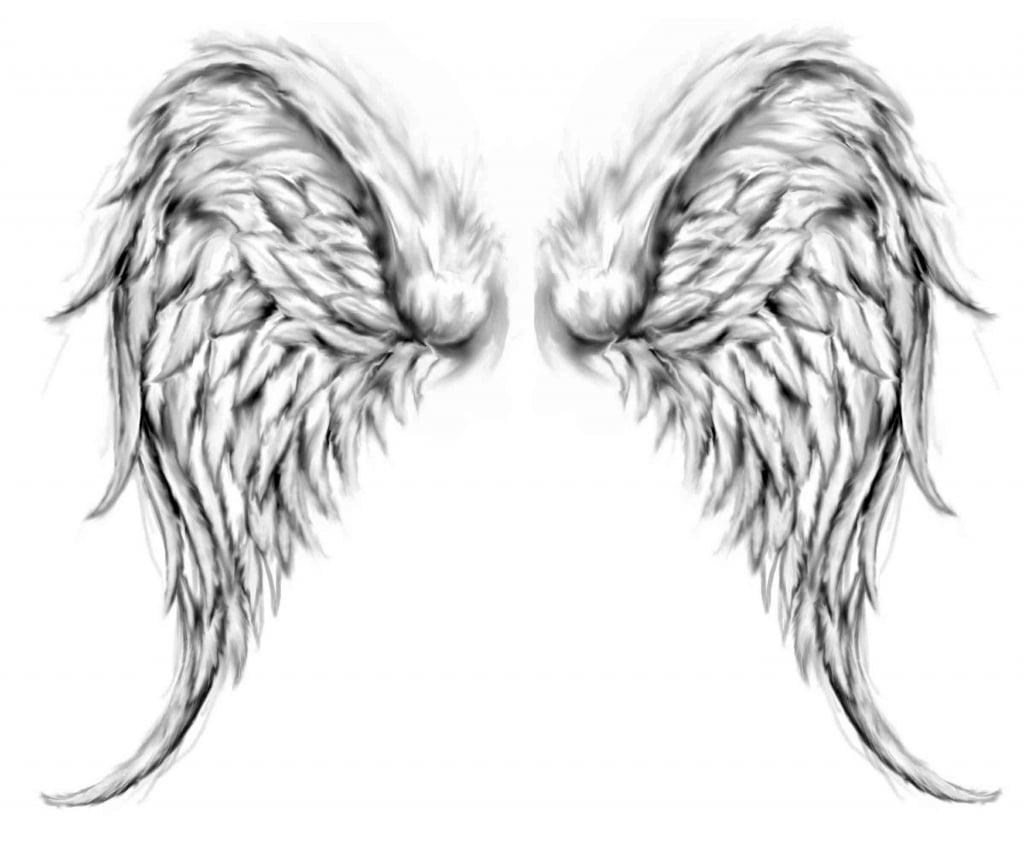 Engelflügel Tattoo