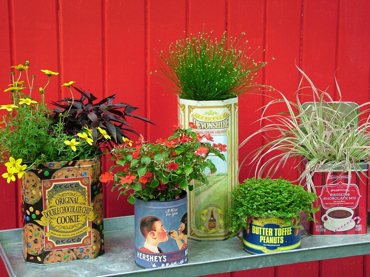 Gartendeko Rost Ideen