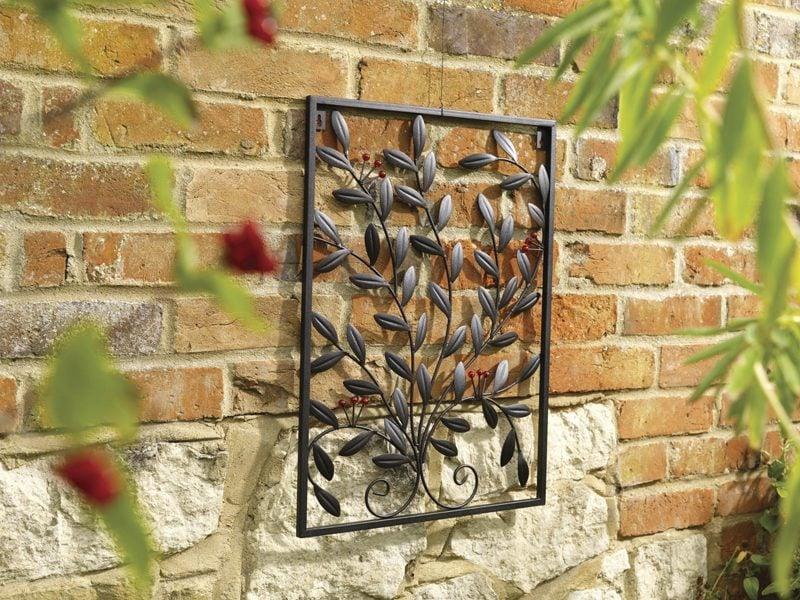 Gartendeko Rost DIY Idee