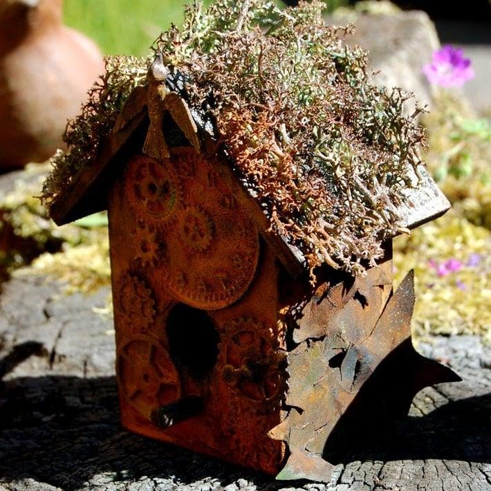 46 ideen f r gartendeko rost da die natur am besten for Gartendeko im winter