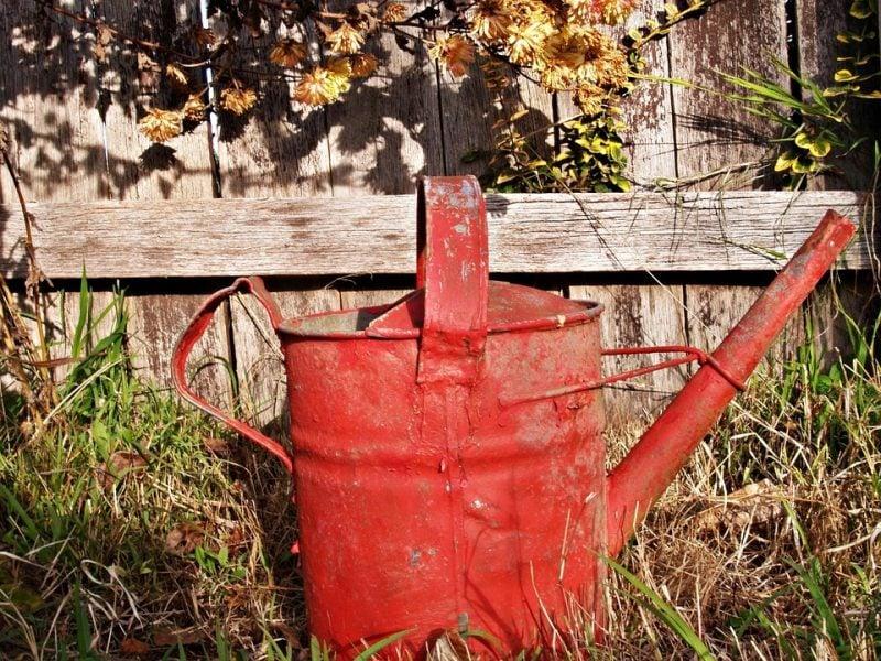 Gartendeko Rost Idee