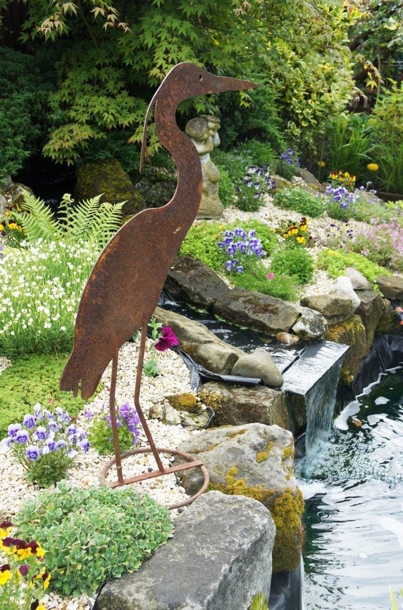 Gartendeko Rost Skulpturen