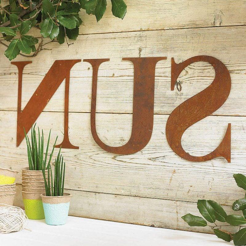 Gartendeko Rost Tabelle