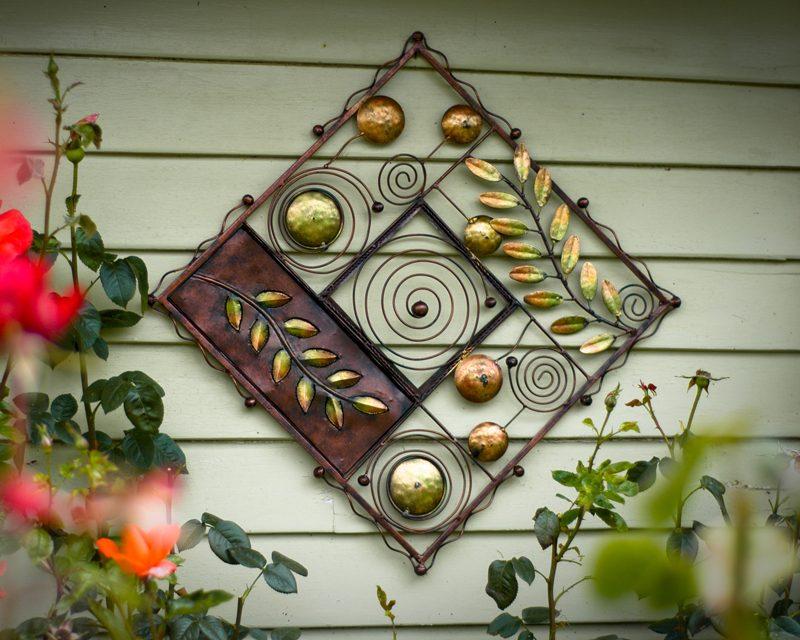 Gartendeko Rost Wanddeko
