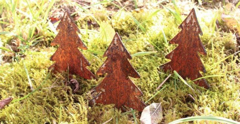 Gartendeko Rost Weihnachten