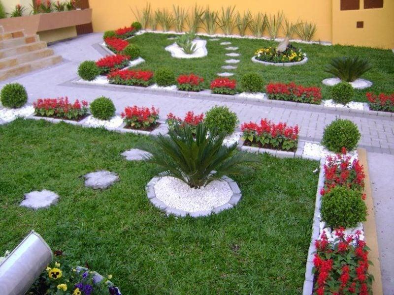 Mit Gartengestaltung mit Steinen werden Sie Ihren Garten optisch begrenzen