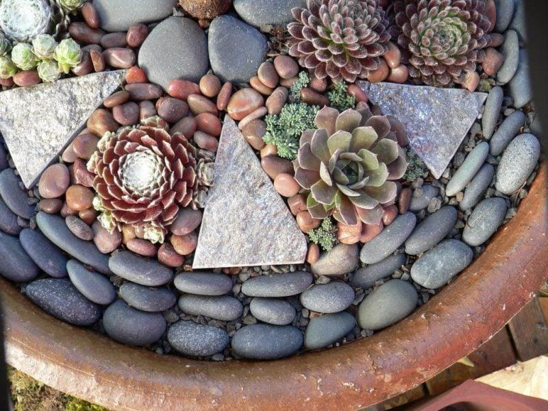 Gartengestaltung mit Steinen für einzigartige Dekoration