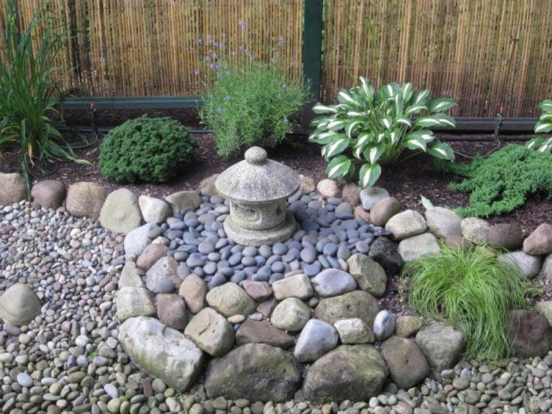 Gartengestaltung mit Steinen: Gestalten Sie Zengarten