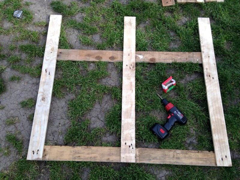 Gartentor selber bauen DIY Anleitung Schritt 1