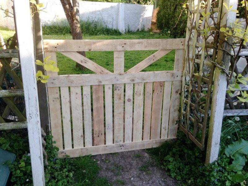 Gartentor selber bauen DIY Anleitung