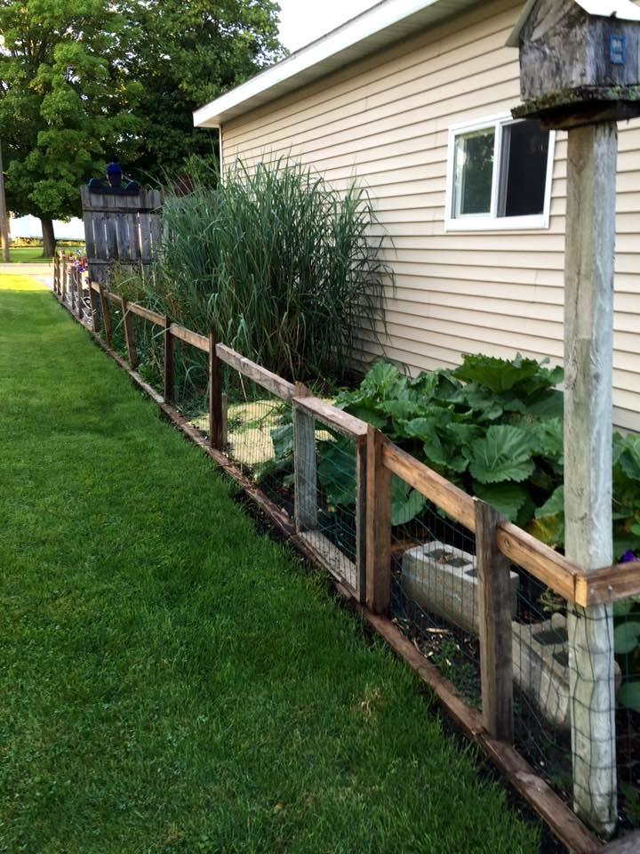 Palette Idee für Gartentor selber bauen