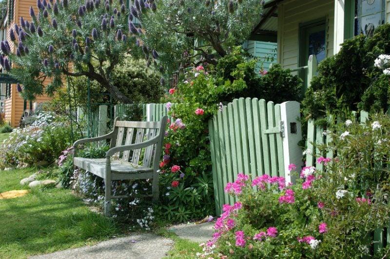 Idee für Gartentor selber bauen