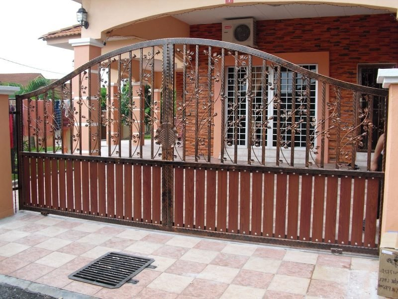 Gartentor selber bauen : Interessante Metall Elemente