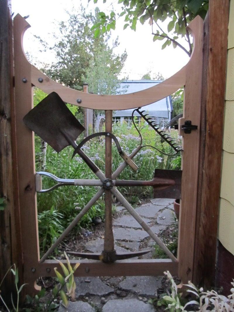 Gartentor selber bauen : Kreative Ideen