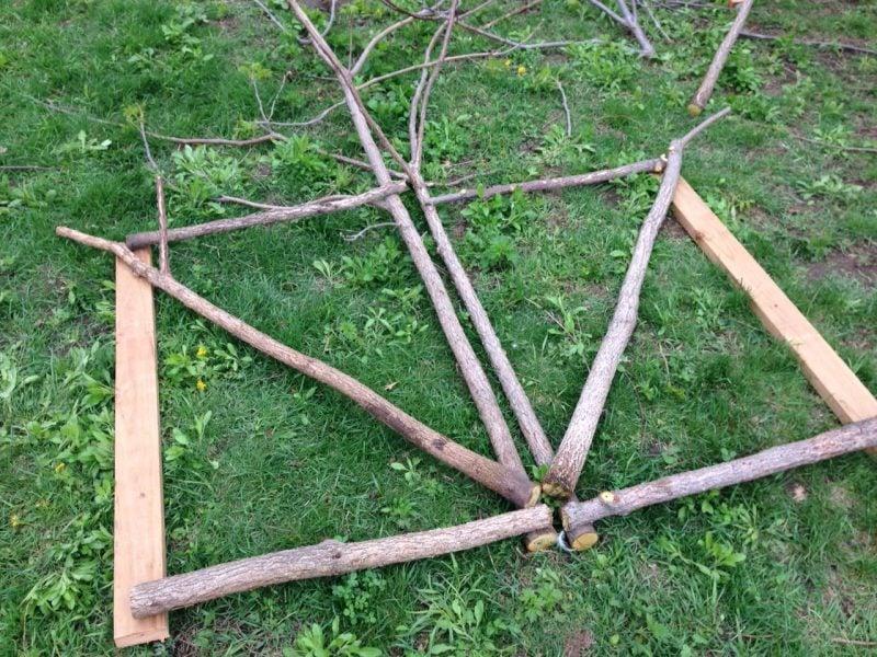 Gartentor selber bauen einzigartige Idee