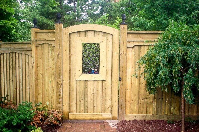 Holz-Gartentor selber bauen