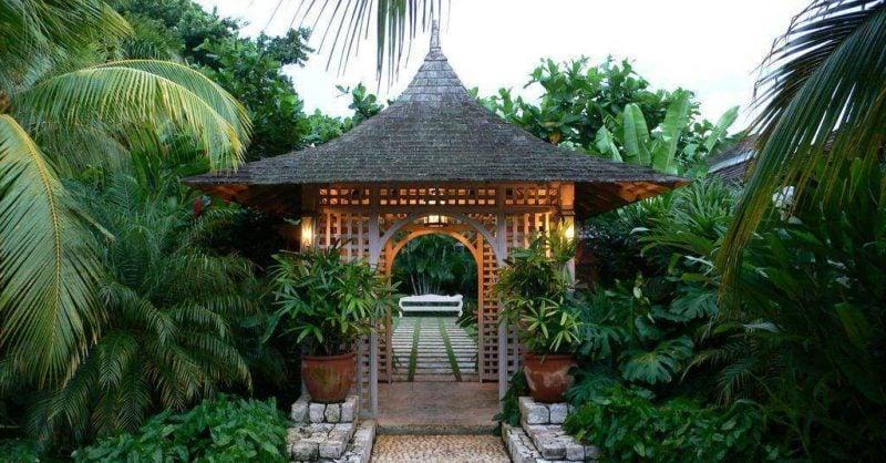 Gartentor selber bauen in Zengarten