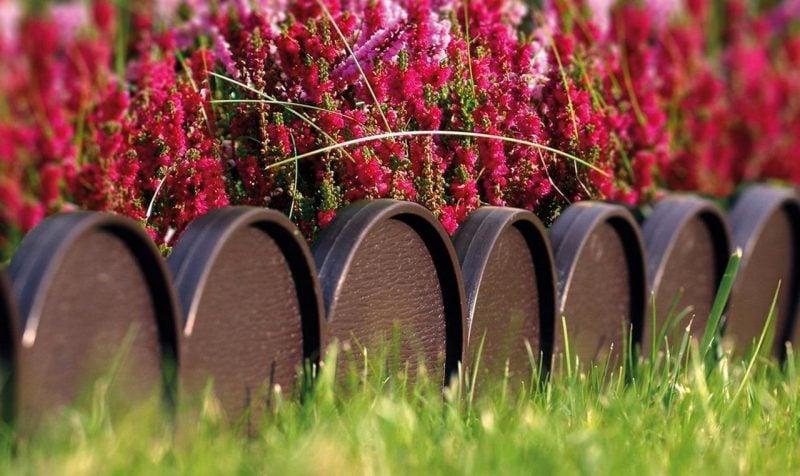 Gartenzaun aus Kunststoff - interessante Formen