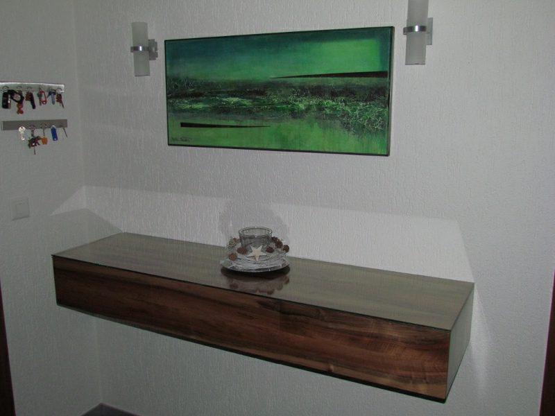 Sideboard hängend Holz modernes Design