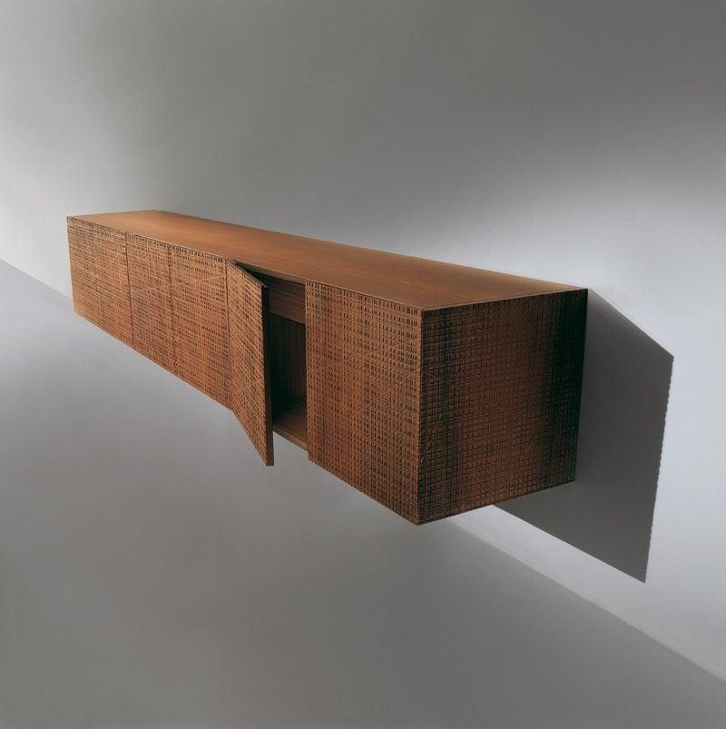 Sideboard Hngend Design Affordable Lowboard Wei Hochglanz Hngend