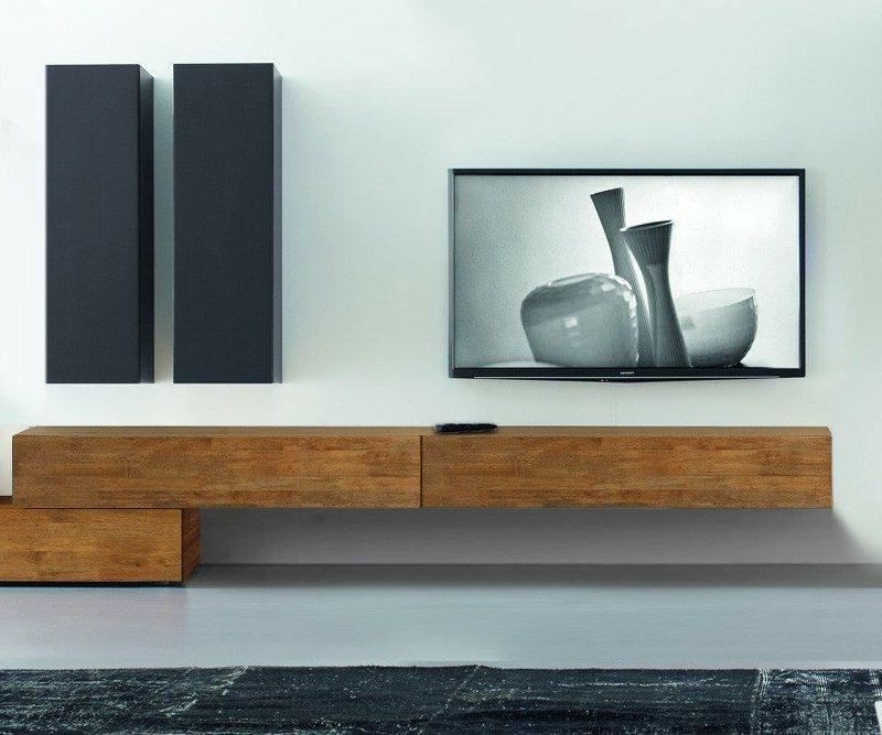 Lowboard hängend holz  Sideboard hängend: 25 trendige Designideen für Ihre Wohnung