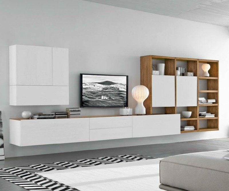 Sideboard hängend breit und modern