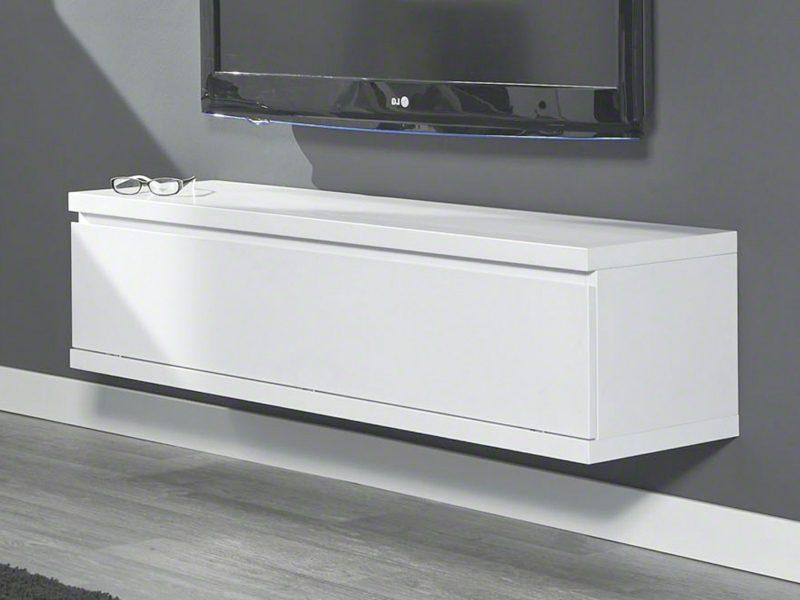 Sideboard hängend moderne Variante im Weiss