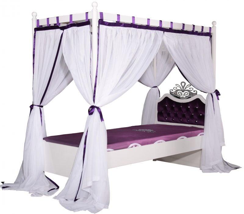 Himmelbett Vorhang Kinderzimmer