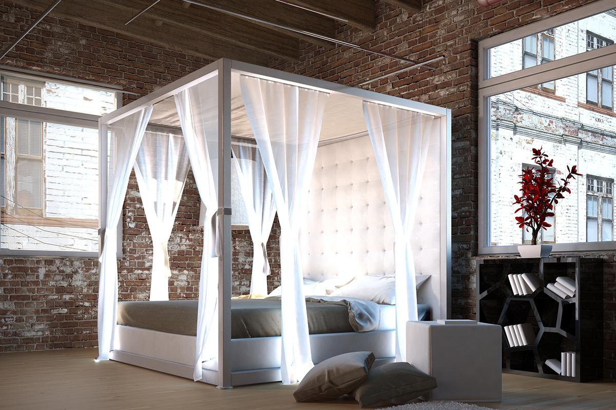 einladung zum tr umen 24 inspirationen f r himmelbett vorhang schlafzimmer zenideen. Black Bedroom Furniture Sets. Home Design Ideas
