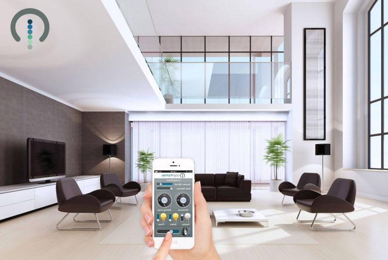 blick in die zukunft intelligentes wohnen in smart home architektur zenideen. Black Bedroom Furniture Sets. Home Design Ideas