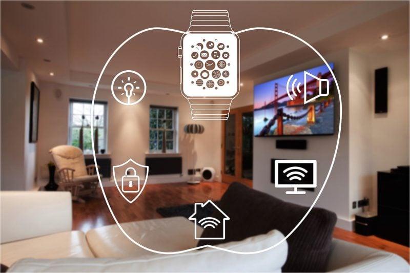 Intelligentes Wohnen - Kontrolle durch Smart Geräte