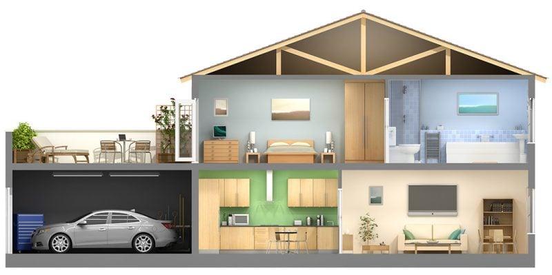 Intelligentes Wohnen - Alle Zimmer sind vernetzt