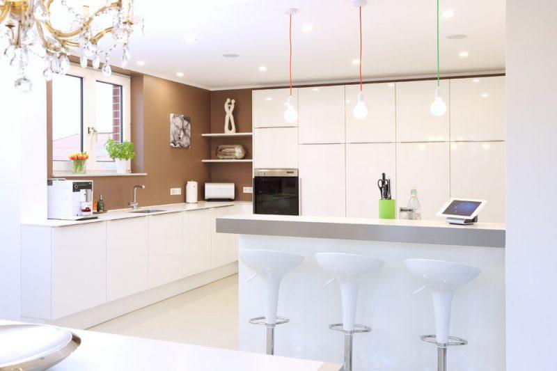 Intelligentes Wohnen Smart Wohnung mit installiertem Smart System