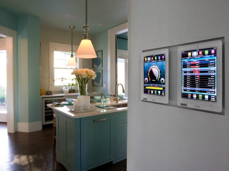 Blick in die zukunft intelligentes wohnen in smart home for Wohnung ausstatten
