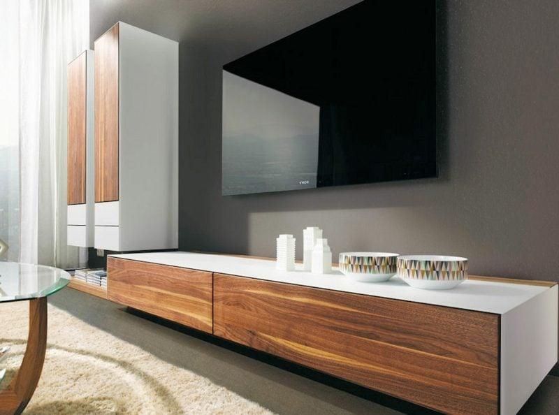 Sideboard hängend Holz interessantes Design