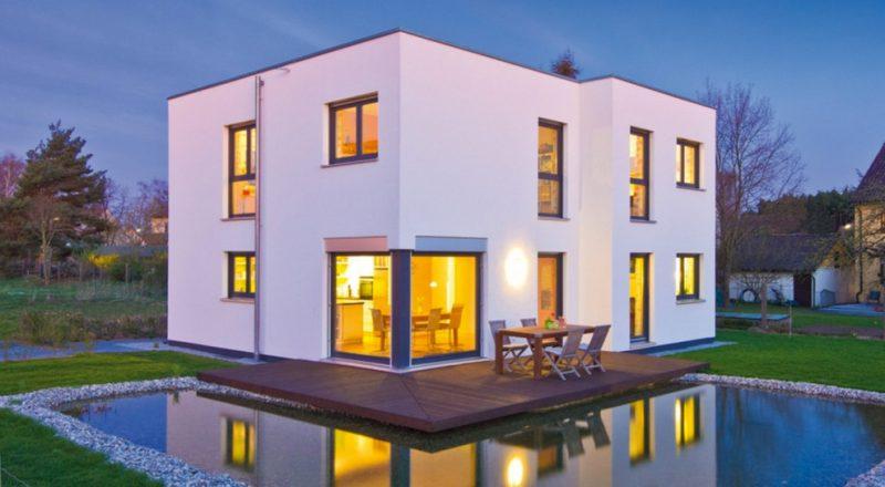 Kleine Fertighäuser moderne Architektur