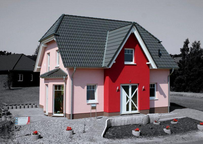 Kleine Fertighäuser klassisch Bauhaus