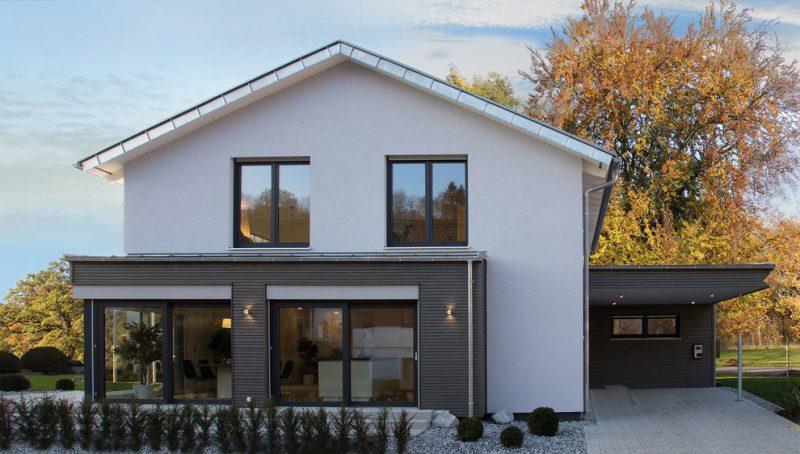 Klleine Fertighäuser Musterhaus Ulm