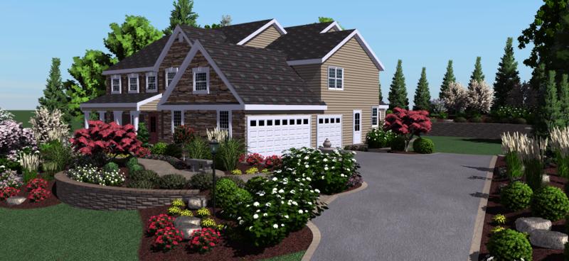 3D Gartenplaner kostenlos realistische Darstellung