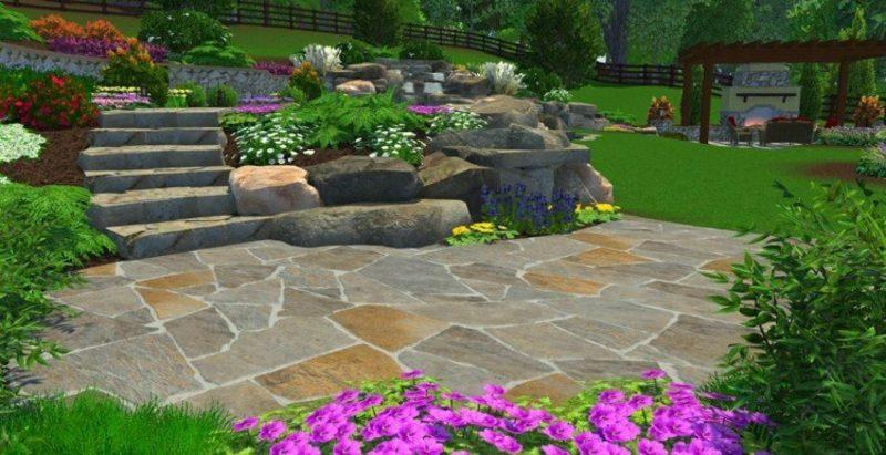 Gartenplanung online Steingarten